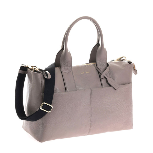 JEM + BEA JEMIMA BABY CHANGING BAG - GREY