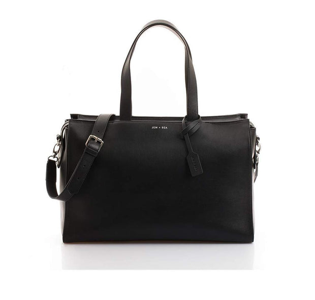 JEM + BEA MARGOT BABY CHANGING BAG - BLACK