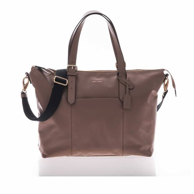JEM + BEA BEATRICE BABY CHANGING BAG - TAUPE