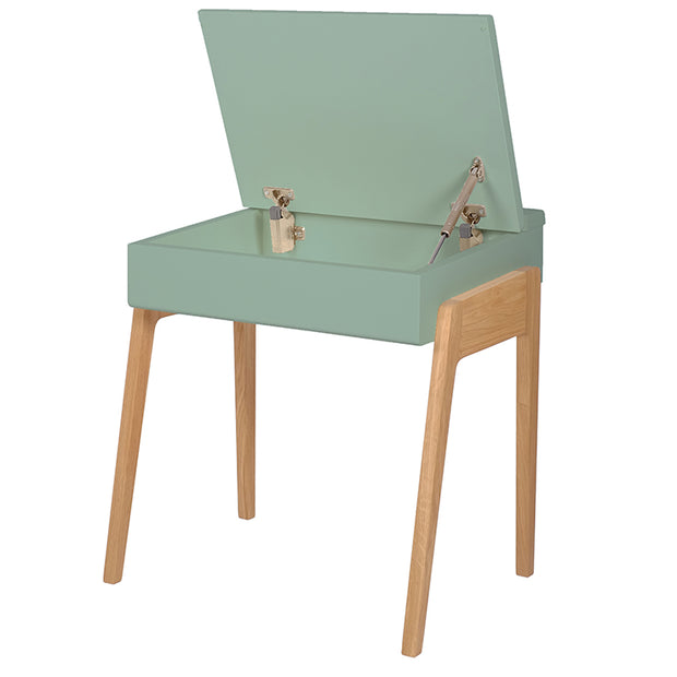 Jungle By Jungle My Little Oak Desk - Celadon Green