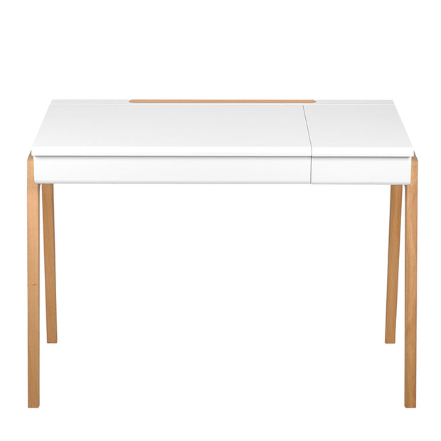 JUNGLE BY JUNGLE CHILDREN'S OAK DESK - WHITE