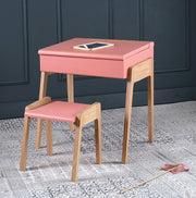 JUNGLE BY JUNGLE MY LITTLE OAK DESK - PINK