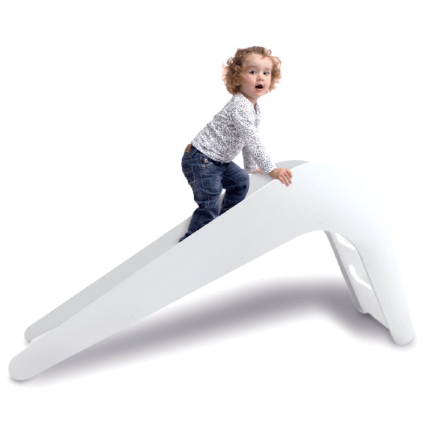 JUPIDUU CHILDS SLIDE - WHITE