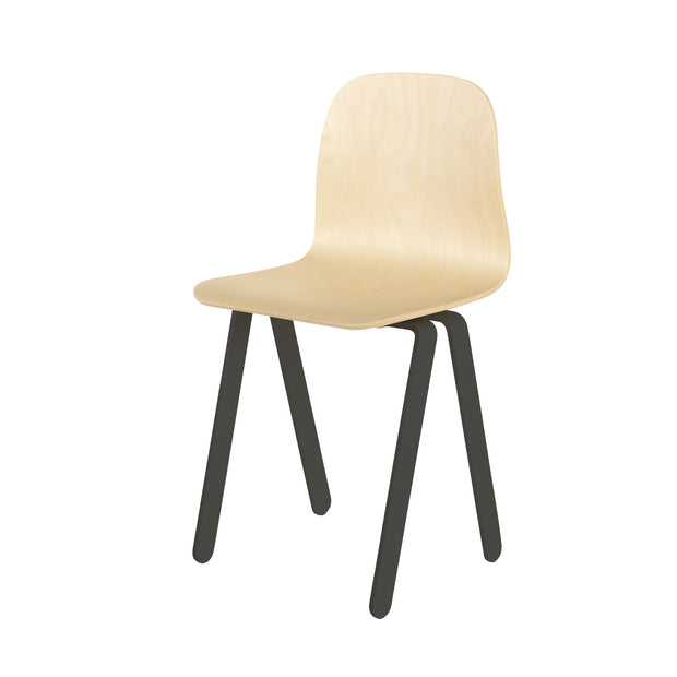 IN2WOOD KIDS CHAIR - BLACK