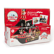 LE TOY VAN WOODEN TOYS - BARBOROSSA PIRATE SHIP