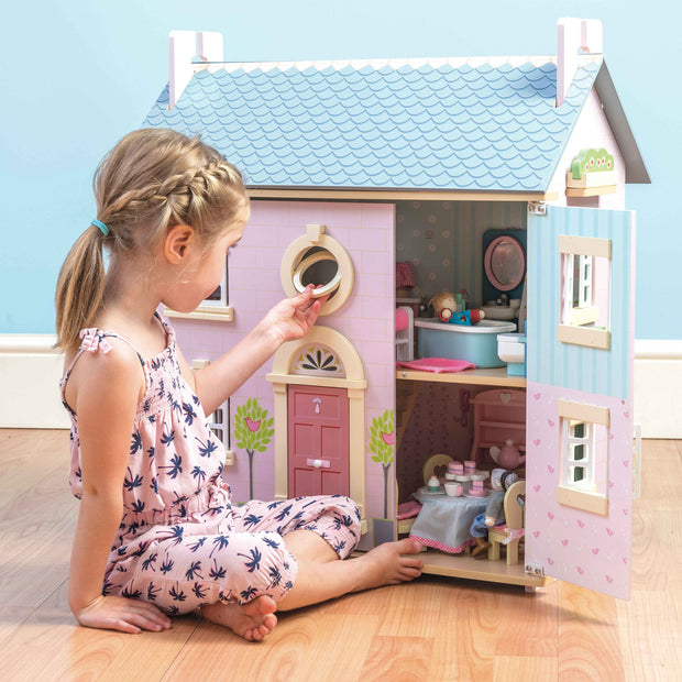 Le Toy Van Wooden Doll House - Bay Tree House