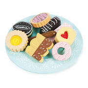 Le Toy Van Honeybake Wooden Toys - Biscuits & Plate
