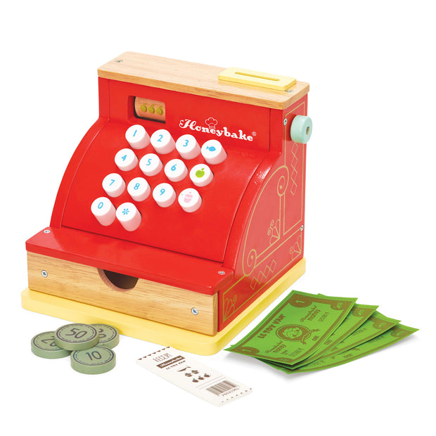 LE TOY VAN WOODEN TOYS - CASH REGISTER