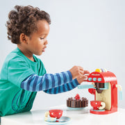LE TOY VAN WOODEN TOY SET - CAFE MACHINE
