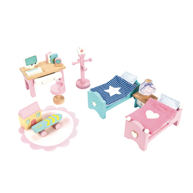 Le Toy Van Daisylane Toy Furniture Pack - Childrens Room