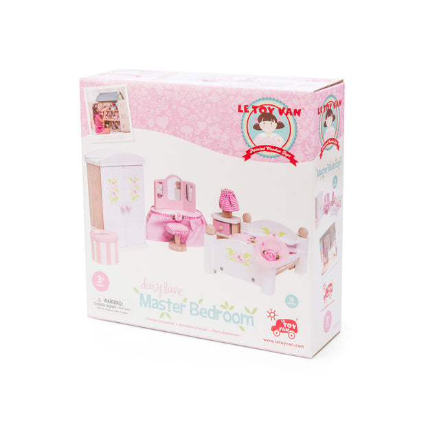 Le Toy Van Daisylane Toy Furniture Pack - Master Bedroom