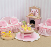 LE TOY VAN DOLL HOUSE FURNITURE SET - SITTING ROOM
