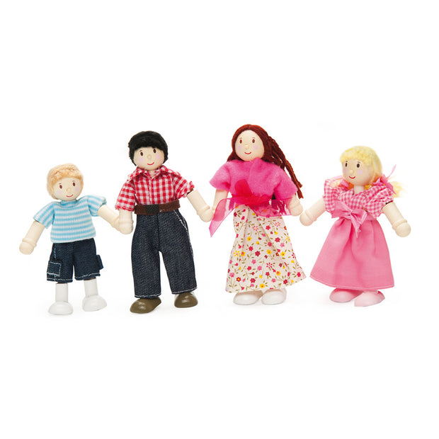 Le Toy Van Wooden Budkins Characters - My Doll Family