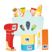 LE TOY VAN GROCERIES SET & SCANNER