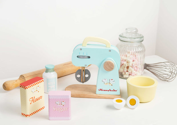 LE TOY VAN WOODEN TOY SET - FOOD MIXER