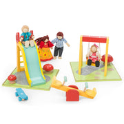 LE TOY VAN DOLL HOUSE FURNITURE SET - GARDEN