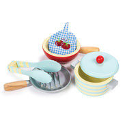 LE TOY VAN WOODEN TOY SET - POTS & PANS