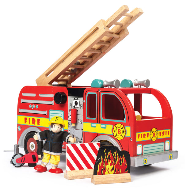 LE TOY VAN WOODEN TOYS - FIRE ENGINE
