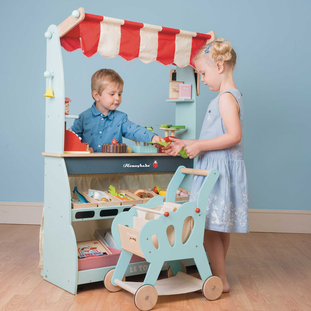 Le Toy Van Honeybake Wooden Toys - Shop & Cafe