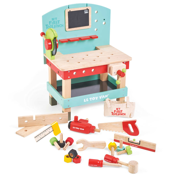 LE TOY VAN WOODEN TOYS - MY FIRST TOOL BENCH