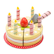 LE TOY VAN WOODEN TOYS - VANILLA BIRTHDAY CAKE