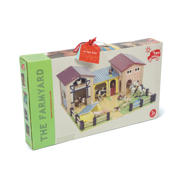 LE TOY VAN WOODEN TOYS - FARMYARD