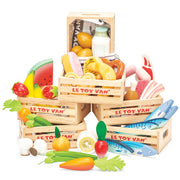 Le Toy Van Honeybake Wooden Toys - Cheese & Dairy Crate