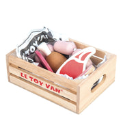 Le Toy Van Honeybake Wooden Toys - Market Meat Crate