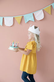 LITTLE DUTCH WOODEN BIRTHDAY CAKE
