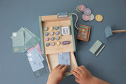 Little Dutch Wooden Toy Cash Register with Scanner