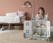 LITTLE DUTCH WOODEN DOLL HOUSE + FURNITURE