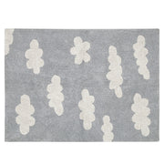 Lorena Canals Machine Washable Rug - Clouds Vintage Grey