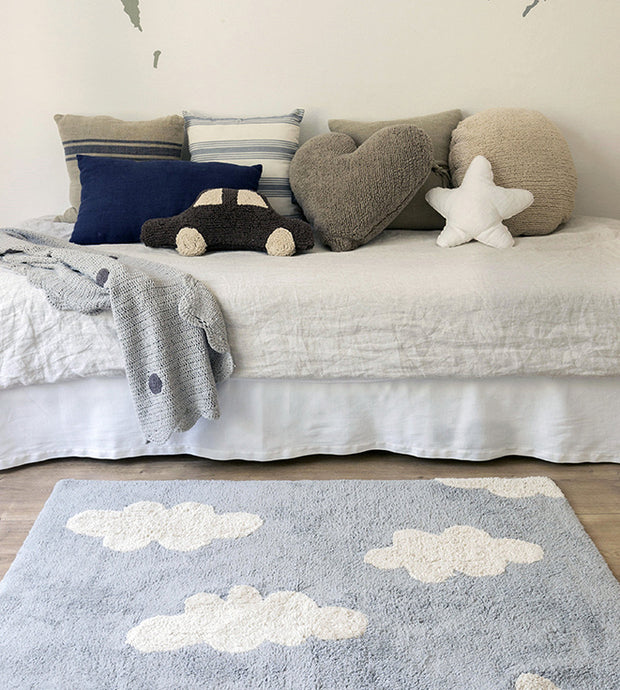 LORENA CANALS WASHABLE CLOUDS RUG - VINTAGE GREY