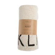 LORENA CANALS ABC BABY BLANKET - NATURAL