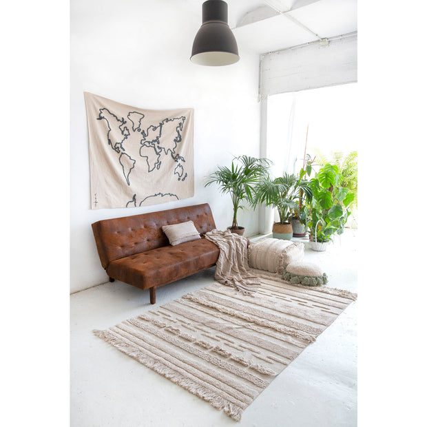 LORENA CANALS AIR WASHABLE RUG - NATURAL