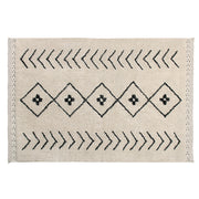 LORENA CANALS BEREBER RHOMBS WASHABLE RUG - BEIGE