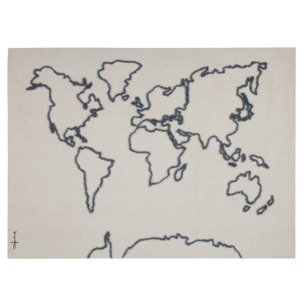 LORENA CANALS CANVAS WORLD MAP