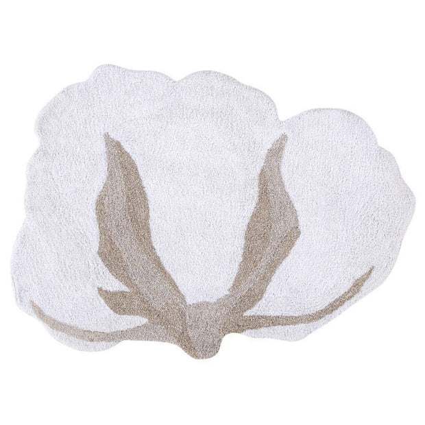 LORENA CANALS WASHABLE RUG - COTTON FLOWER