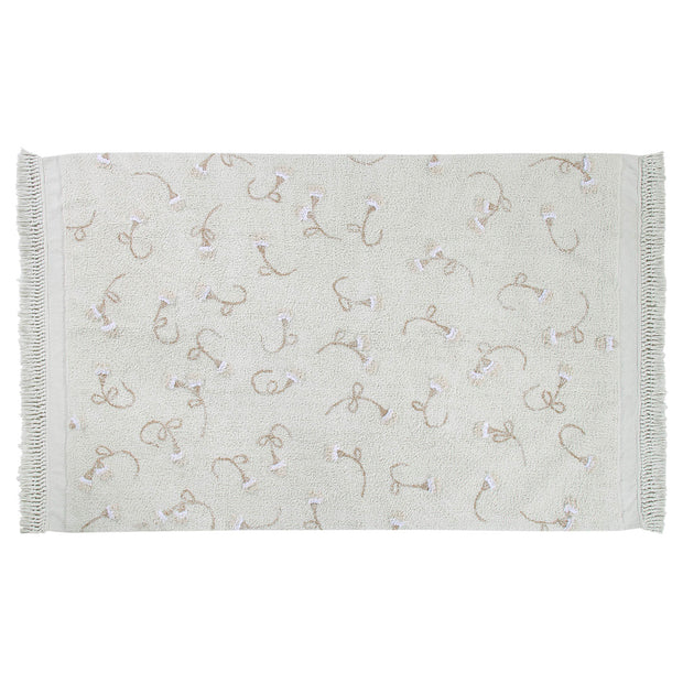 LORENA CANALS ENGLISH GARDEN WASHABLE RUG - IVORY