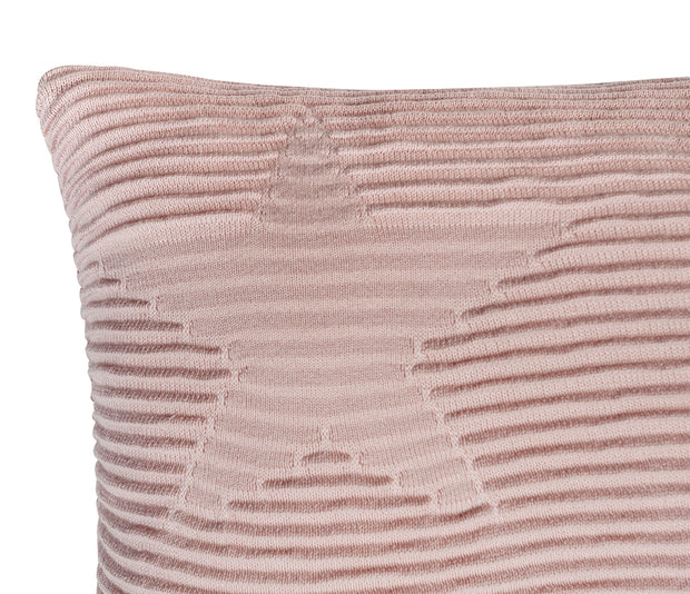 LORENA CANALS HIPPY STARS CUSHION - NUDE PINK