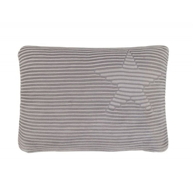 LORENA CANALS HIPPY STARS CUSHION - GREY