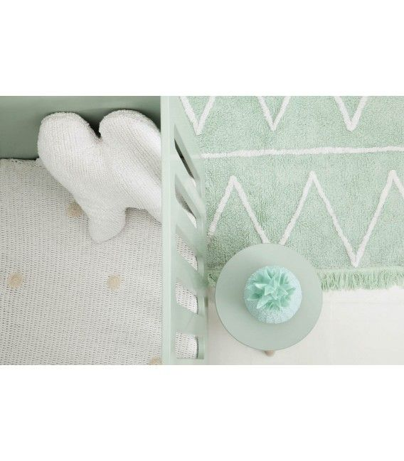 LORENA CANALS WASHABLE HIPPY RUG  - MINT