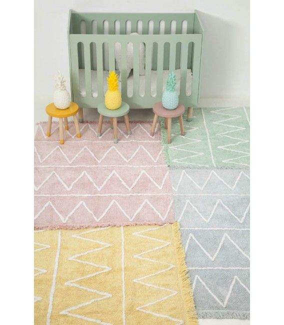 LORENA CANALS WASHABLE HIPPY RUG  - SOFT PINK