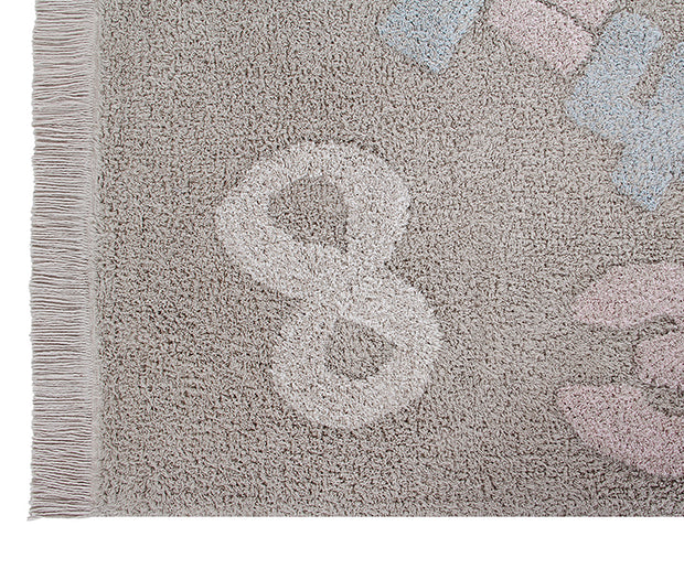 Lorena Canals Machine Washable Rug - Numbers