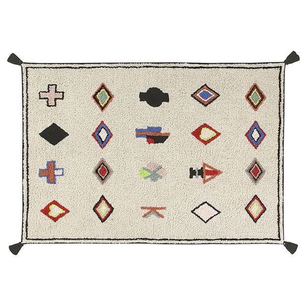 LORENA CANALS WASHABLE RUG - NAADOR