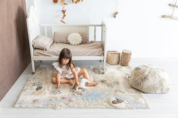 LORENA CANALS PATH OF NATURE WASHABLE RUG