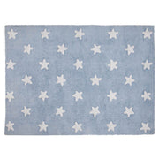 LORENA CANALS STARS WASHABLE RUG - BLUE | WHITE