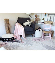 LORENA CANALS KIDS ROOM RUG - TROPICAL PINK