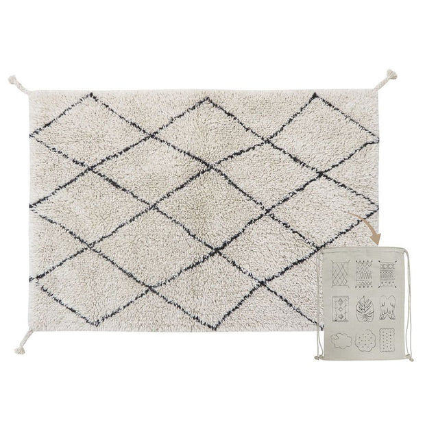 Lorena Canals Machine Washable Rug - Mini Bereber
