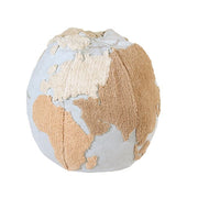 LORENA CANALS POUF -  WORLD MAP